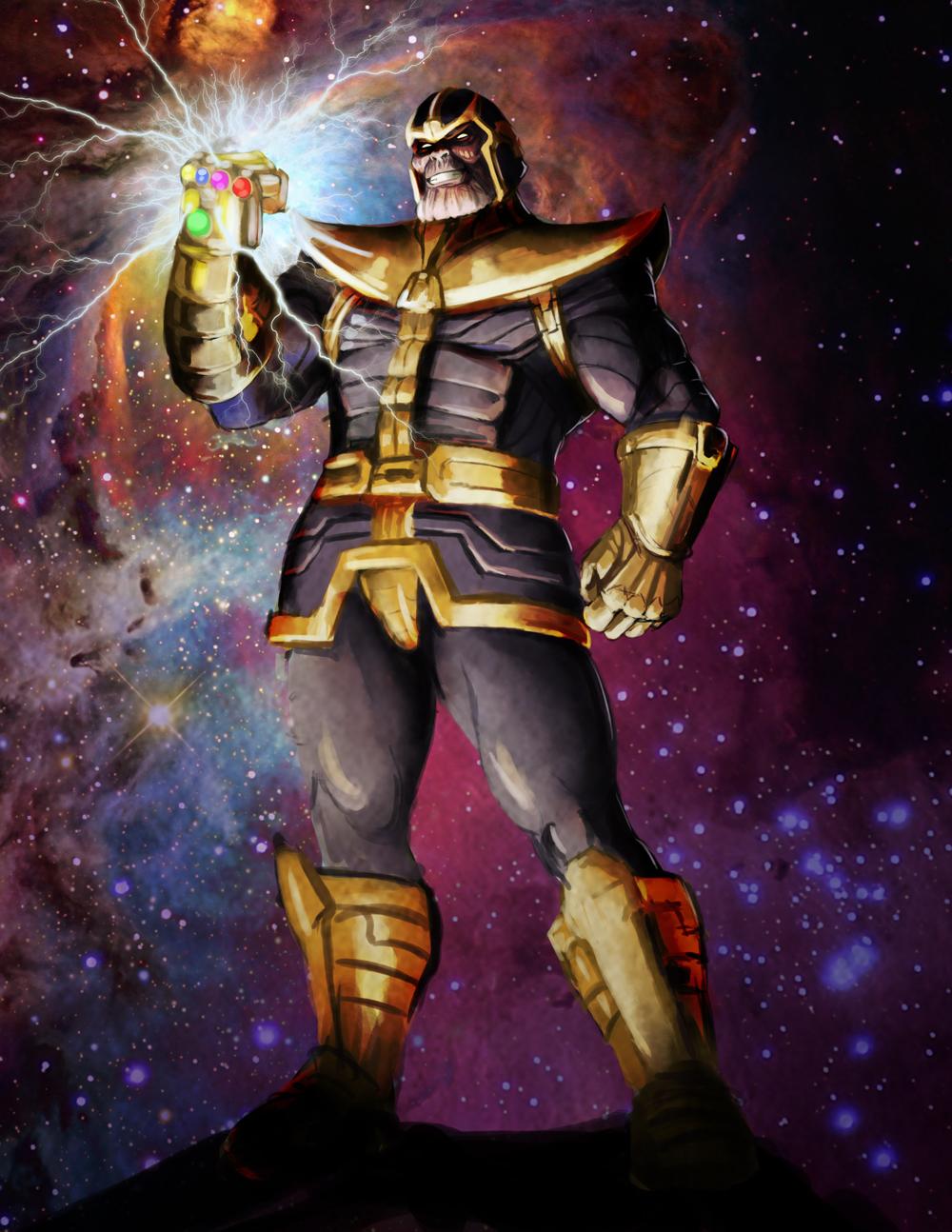 Thanos Character study more progress