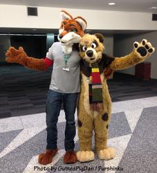 Furry buddies at FC2015
