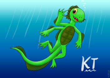 KT as a sea monster