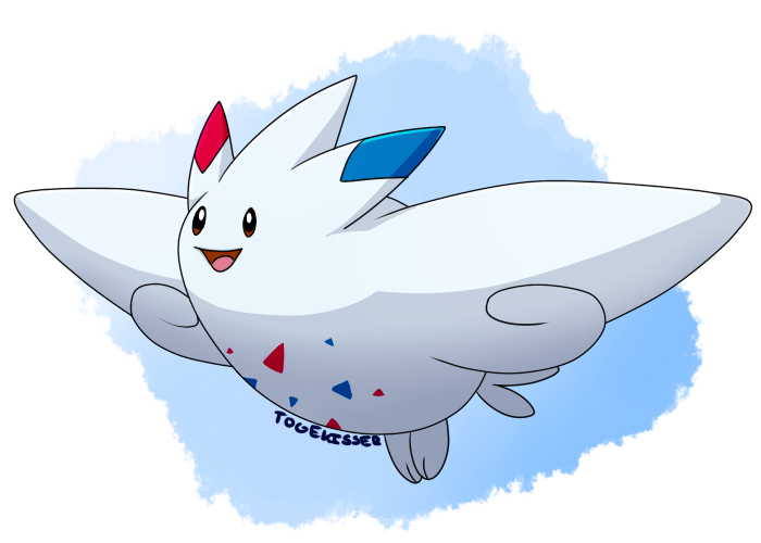 Pokeddexy: Favorite Flying Type - Togekiss