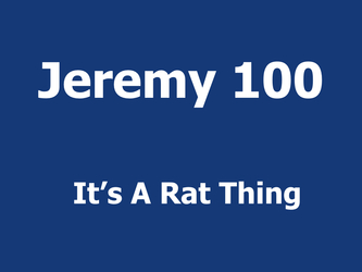 It's A Rat Thing
