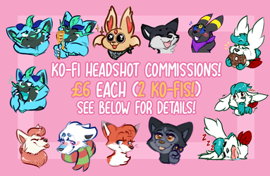 ~Ko-Fi Headshot Comms!~~
