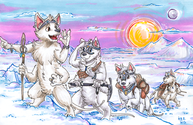 [detailed commission] exploring the ice