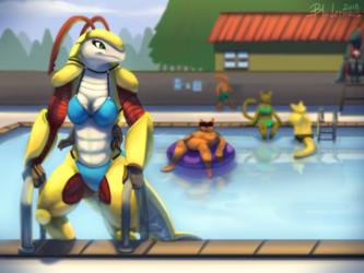 Pool Lobster
