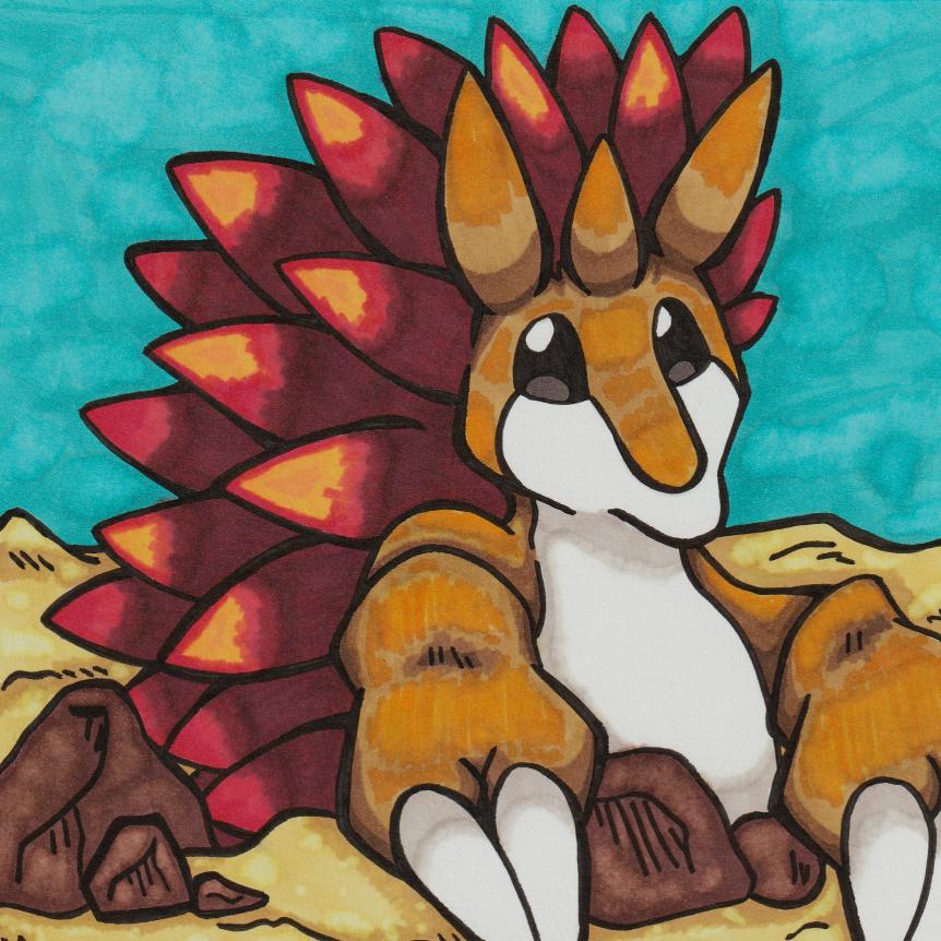 spiky friend