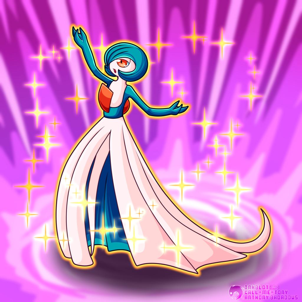 #282 - The Embrace Pokemon - Gardevoir (Shiny)