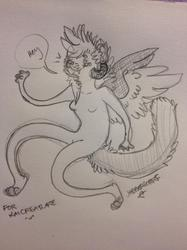 doodle for KaiCreature c: