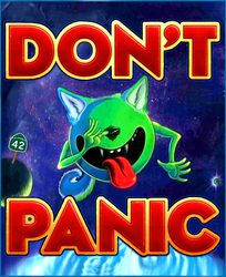 DON'T PANIC! 42 - The Answer to Life, the Universe and Every