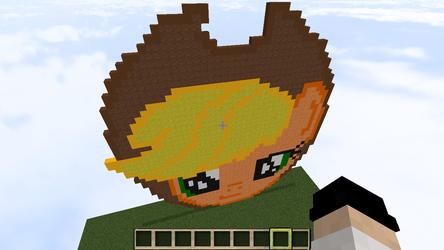 minecraft- apple jack