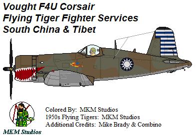 Flying Tiger Corsair