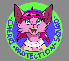 Cherri Protection Squad t-shirt design