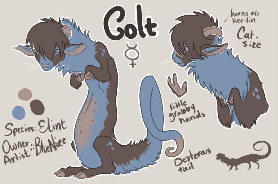 Colt: My cute little grabby-hand creature :)