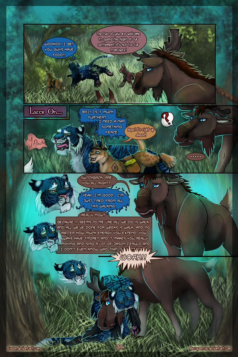 The Last Aysse: Page 39