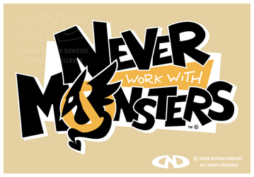 Never Work With Monsters - Logo