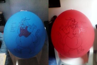 Stan Dragon Dog Balloons