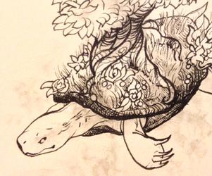 Inktober 3: Turtle