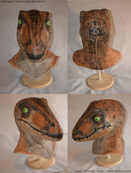 Painted Raptor Mask