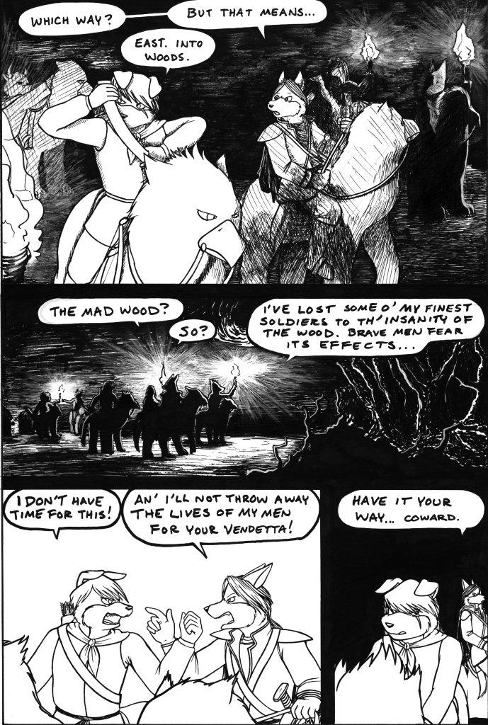 Kain encounters Jen Aside, page 15