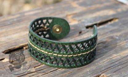 Green Filigree Bracelet