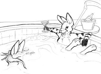 50 Ways: Drown in a hot tub