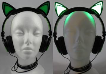 Light Up Headphones!
