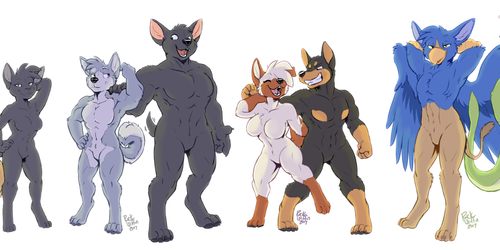 Housepets in my regular style II