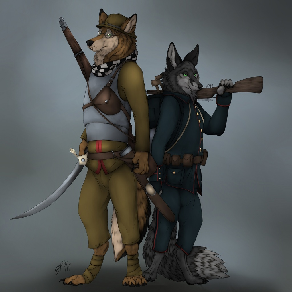 Most recent image: KelbAlrai and Tal's Commission