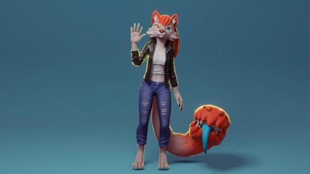 Taylor 3D Model - By RoseRedTiger