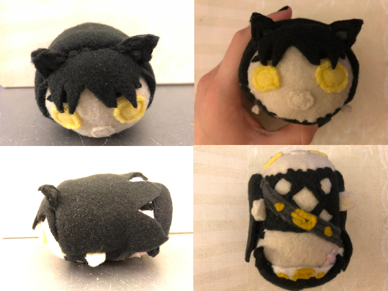 RWBY Blake Belladona Stacking Plush Commission