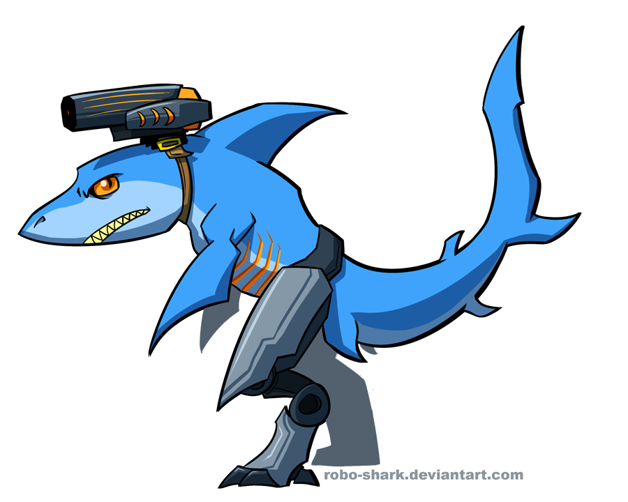 sharks with lasers weasyl