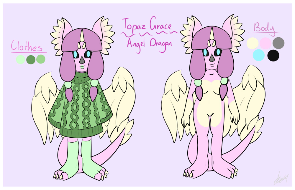 Topaz Grace - Commission Iso 2