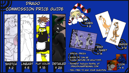 Commissions information