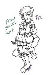Ferret Badger OC for sale