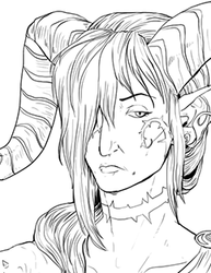 Thorn bust