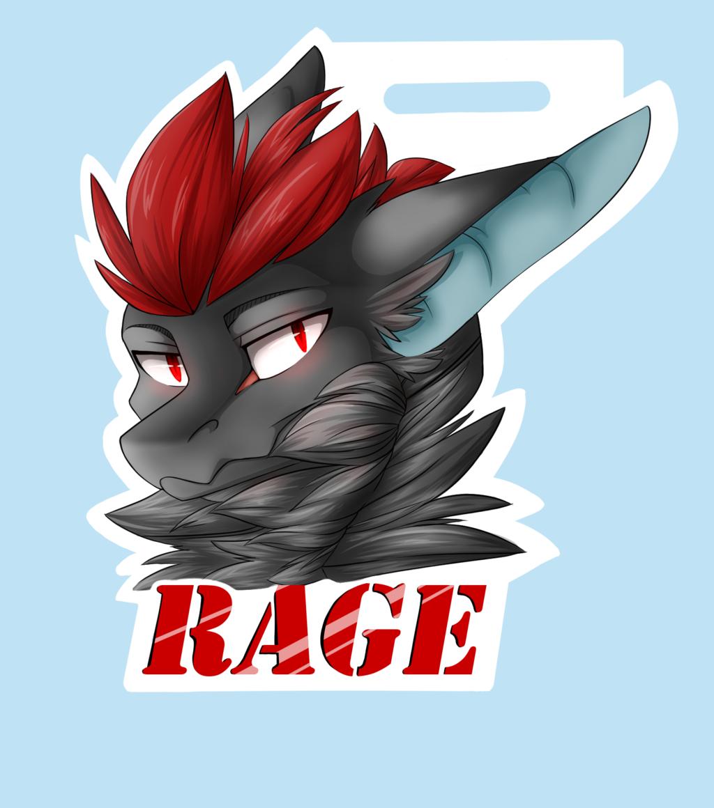 Rage badge