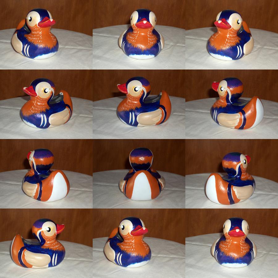 Mandarin Duck Toy — Weasyl
