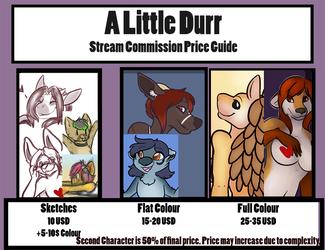 Stream Commission Prices