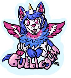Bubblegum Badge