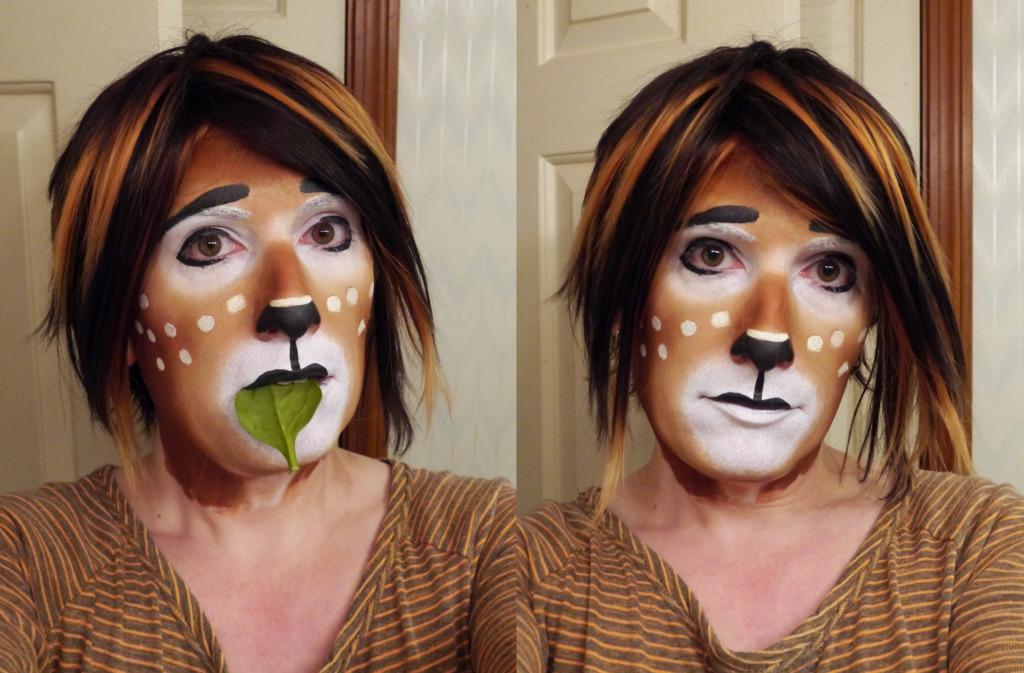 Faun Makeup Practice 1