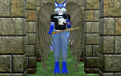 Dark Blue Tails