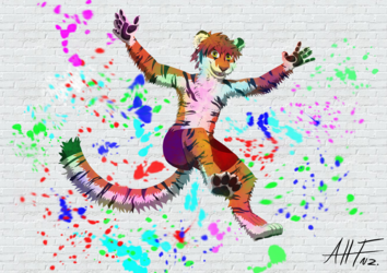 Tiger In Colour!