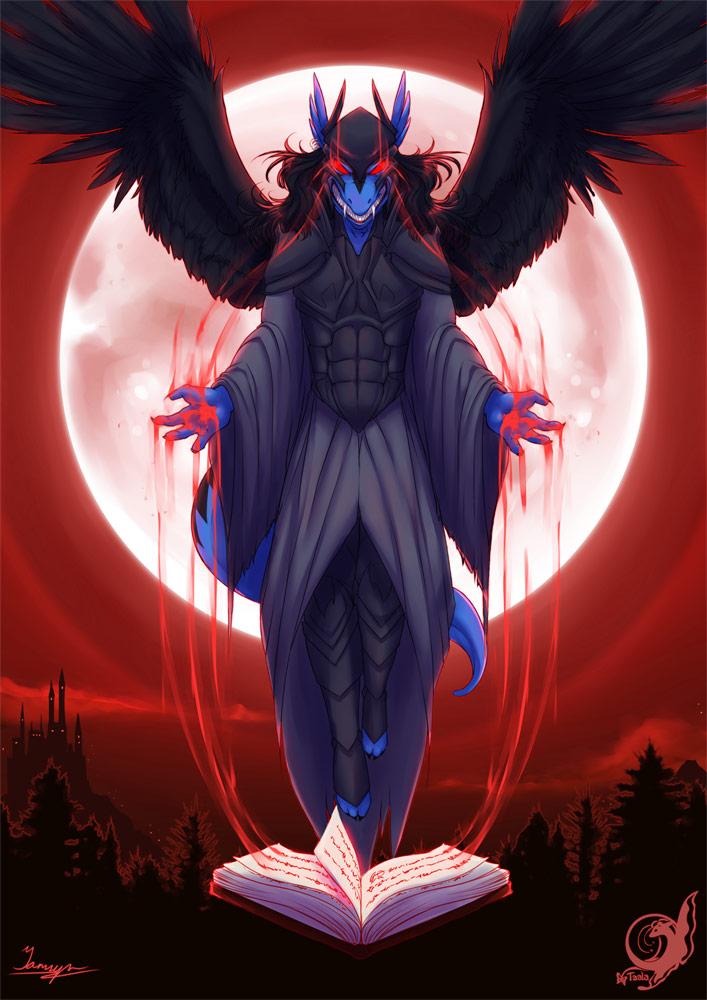 Halloween Commission - Shi'ran the Warlock