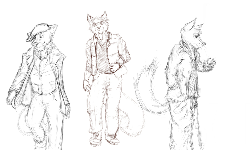 Fashionable Foxes