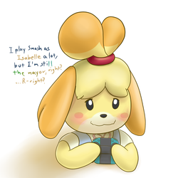 Play Smash, Become Isabelle