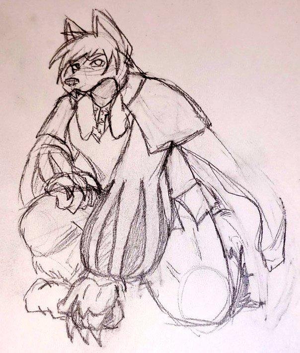 Persona sketch: Bisclavret
