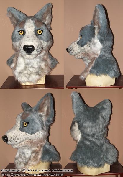 Blue Heeler Mask (modified)