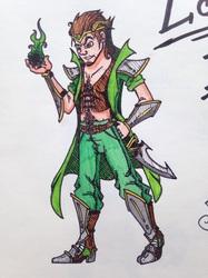 Demigod - Myself as Loki the 2nd