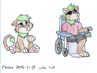 Little Jethro and Wheelchair Jethro