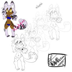[NEW CHARACTER] Alophie - Dullahan Cat-Girl