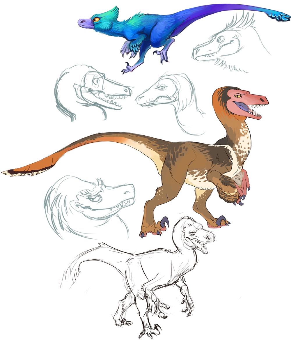 Most recent image: Dromaeosauridae